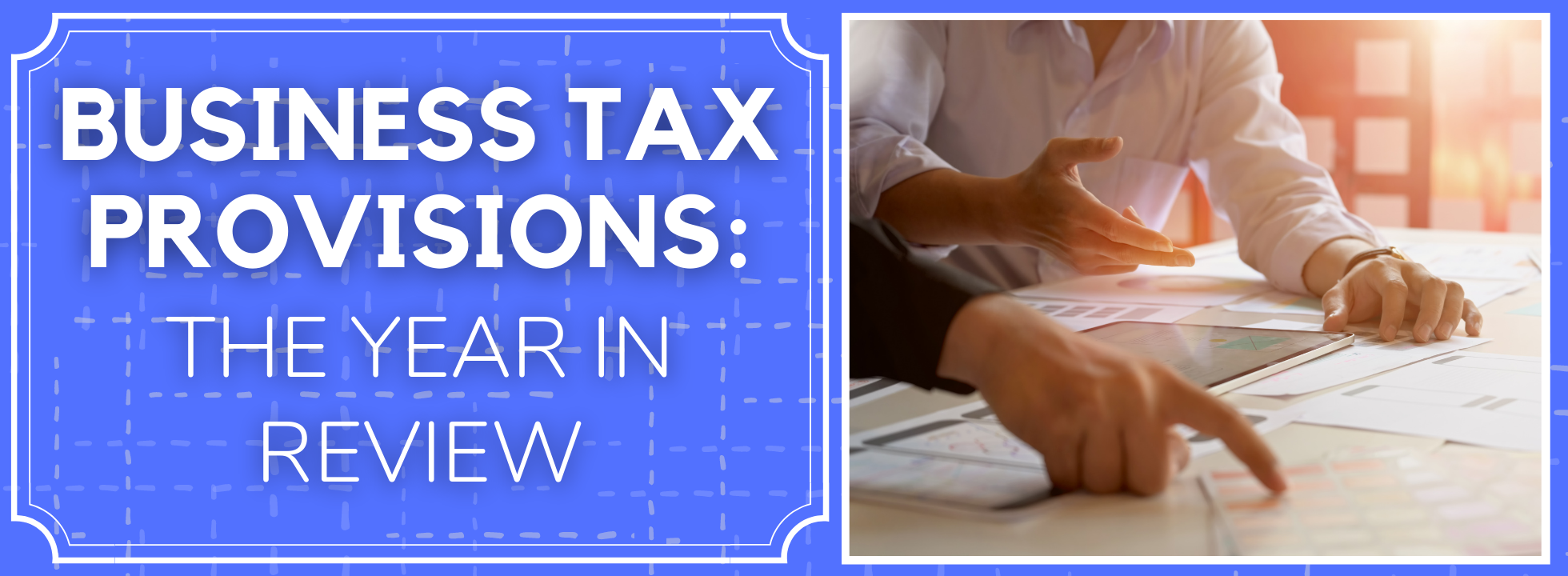 Business Tax Provisions_