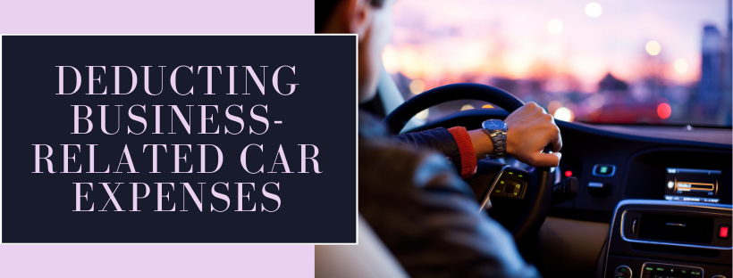 Deducting business-related car expenses