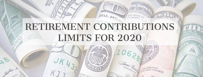 retirement contributions for 2020